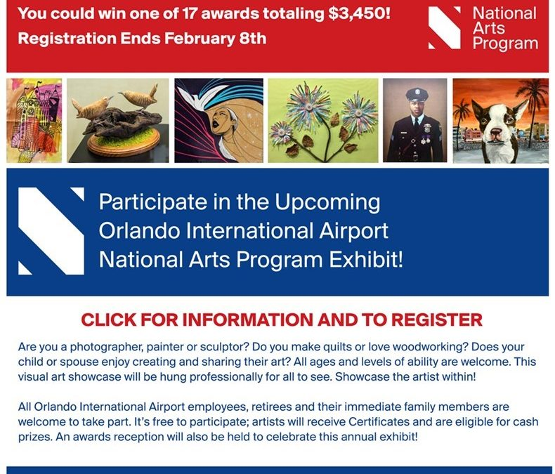 Showcasing the Artists Within Orlando International Airport